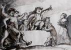 JT Sergel besöker Vasa 1796 och framför en sång