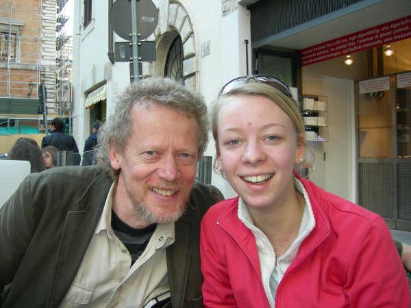Dan Holm, Aina Backman, foto Leo Backman, Roma 2007